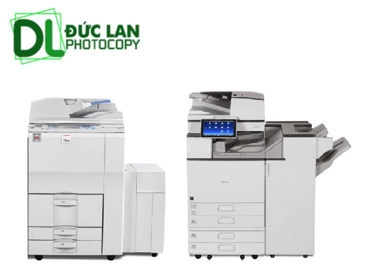 Hai dòng máy photocopy tại Đức Lan
