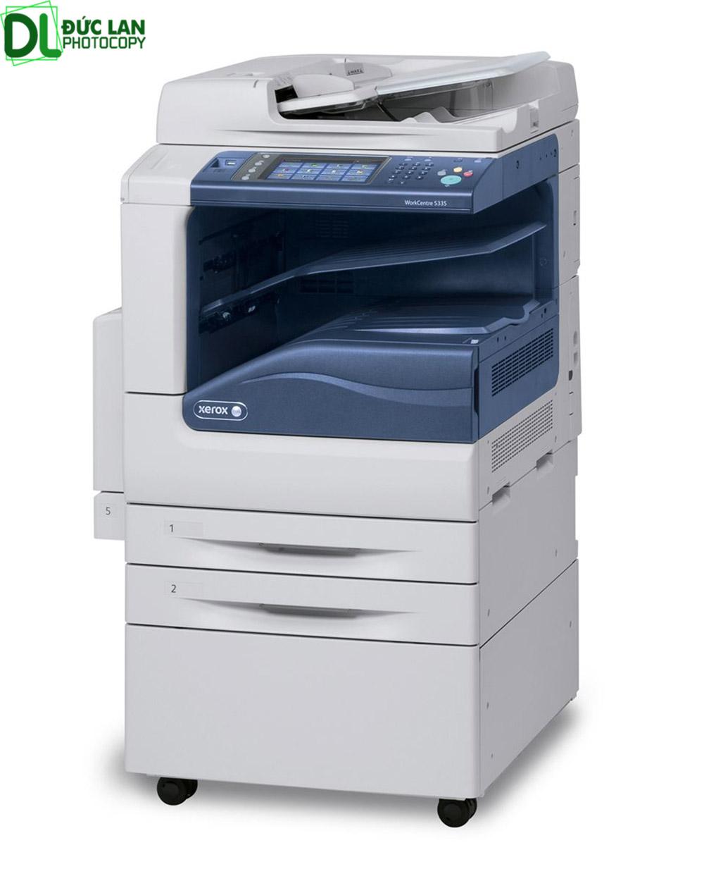 Các dòng máy photocopy tại Đức Lan