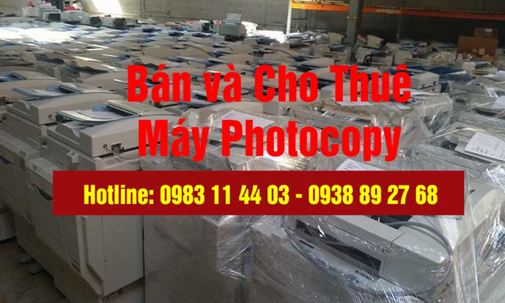 Dịch vụ cho thuê máy photocopy Đức Lan