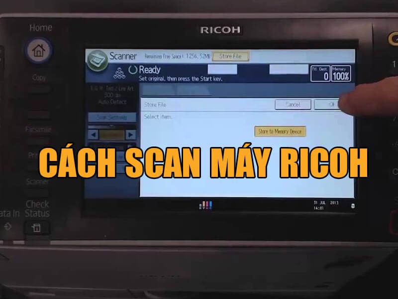 Những thuật ngữ cần biết khi cài đặt Scan to Folder trên máy photocopy Ricoh