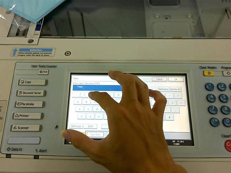 hình ảnh minh họa về việc scan máy phototopy
