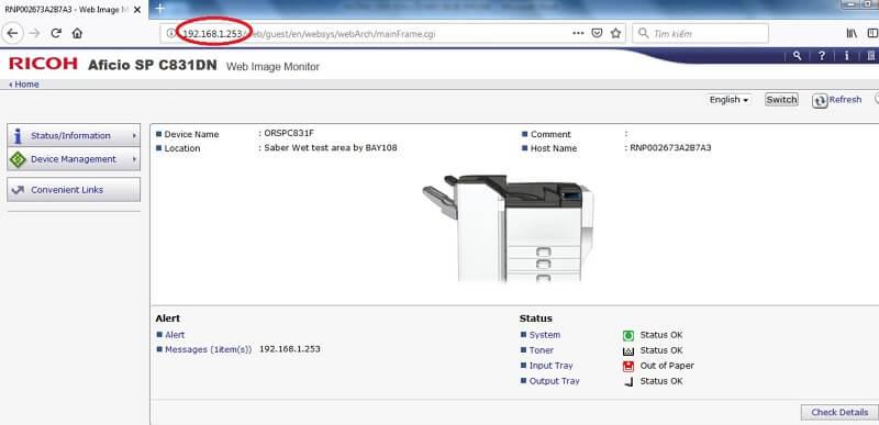 Kiểm tra lại drive máy photocopy