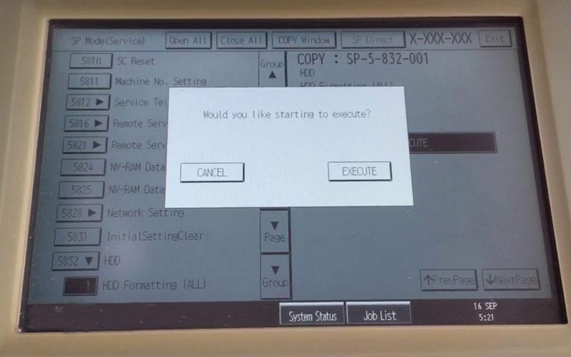 format ổ cứng máy photocopy ricoh 1