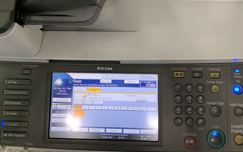 format ổ cứng máy photocopy ricoh 3