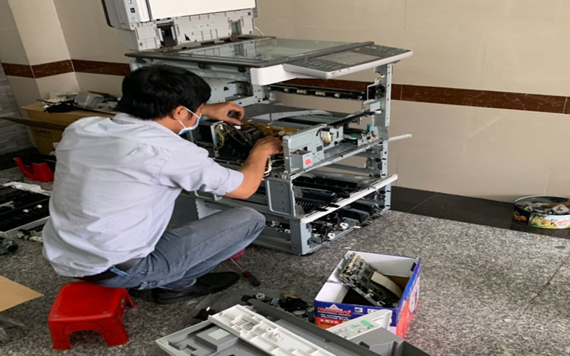 format ổ cứng máy photocopy ricoh 4