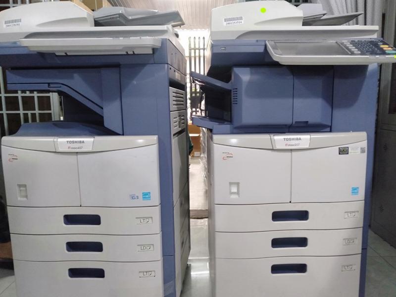Cách nhận biết và khắc phục lỗi hỏng ổ cứng máy Photocopy Toshiba