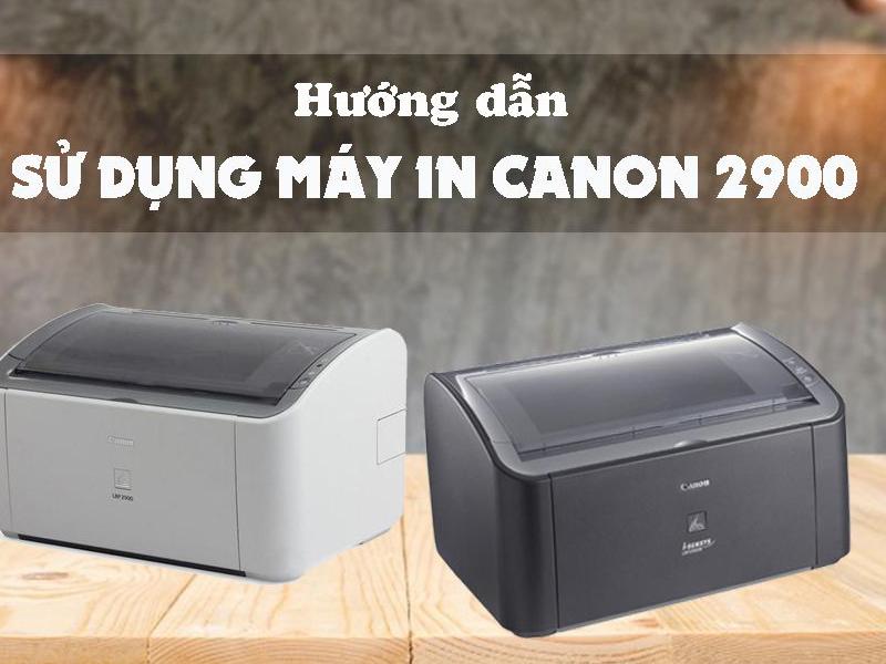 Chia sẻ cách in giấy A5 trên máy in Canon 2900 trong Word
