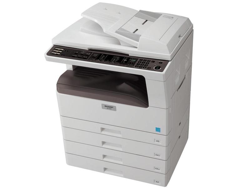 Máy Photocopy sharp xuất hiện vệt đen đậm dọc trang giấy