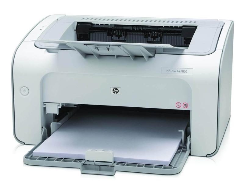 Thực hiện cho giấy vào máy in