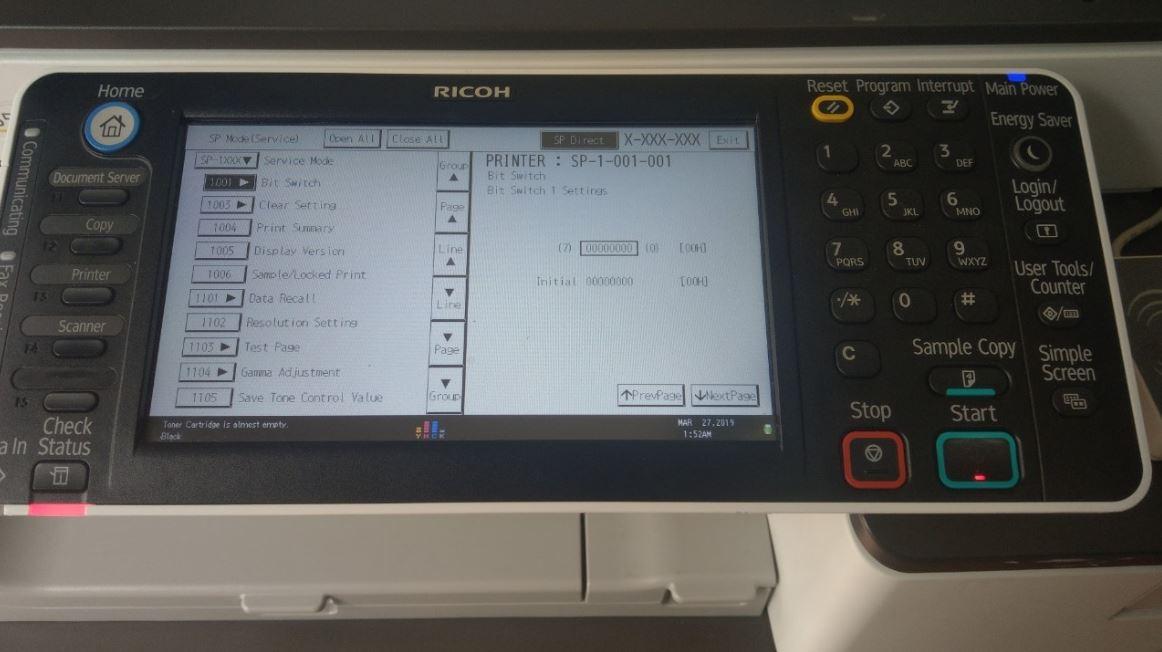 Reset máy photocopy sẽ giúp máy chạy nhanh hơn