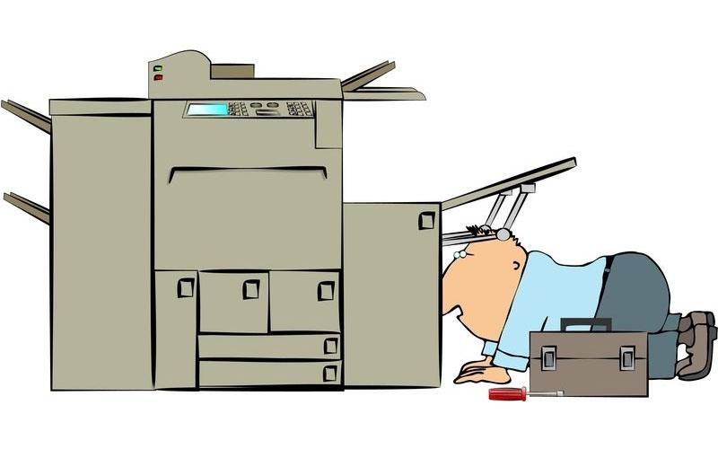 Sửa lỗi bản in bị lệch lề