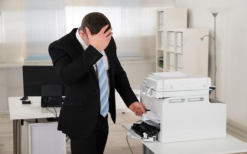 Sau thời gian hoạt động máy photocopy sẽ xảy ra các hỏng hóc