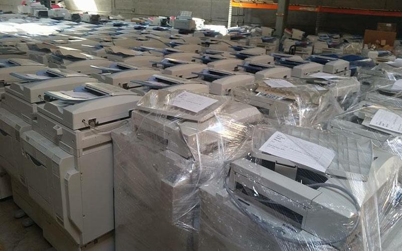 Bao kín máy photocopy trước khi di chuyển