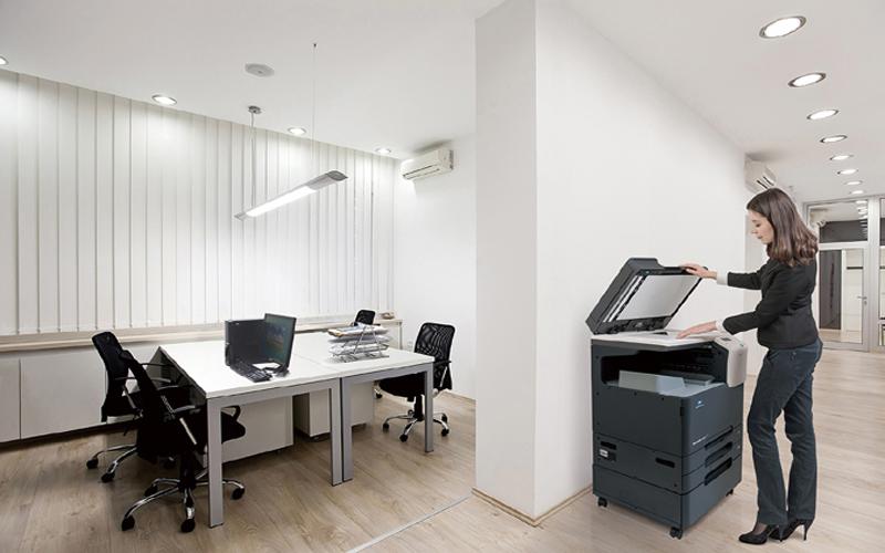 Không chú ý đến nơi đặt máy photocopy