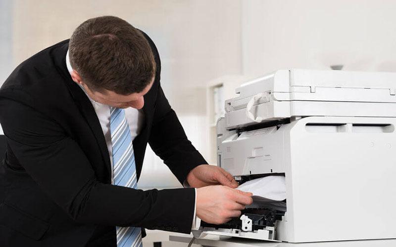 Máy photocopy Ricoh bị nhăn giấy