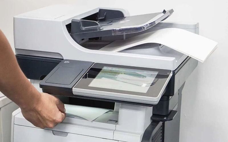 Vận hành máy photocopy liên tục