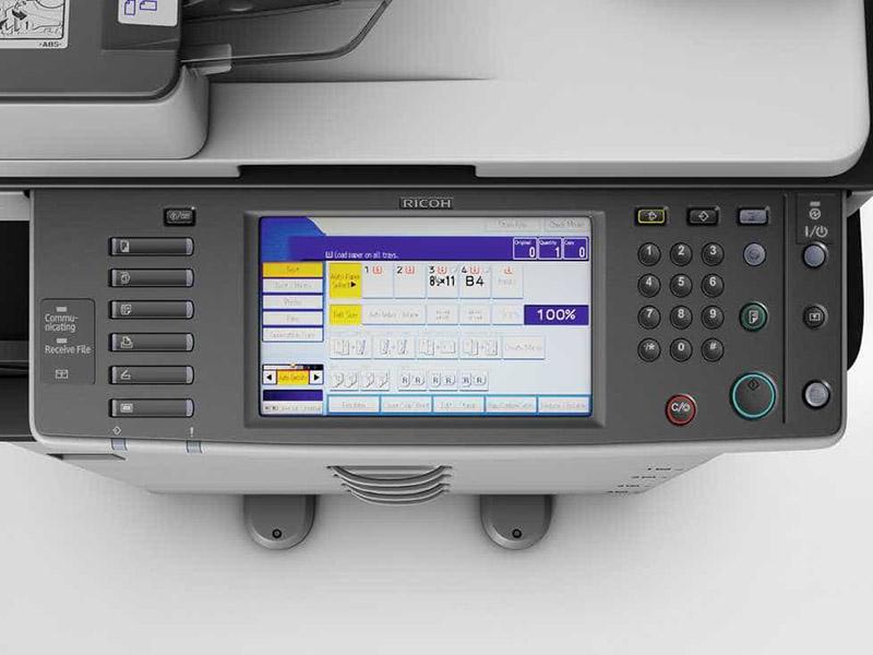 Cách chỉnh mực đậm nhạt máy photocopy Ricoh
