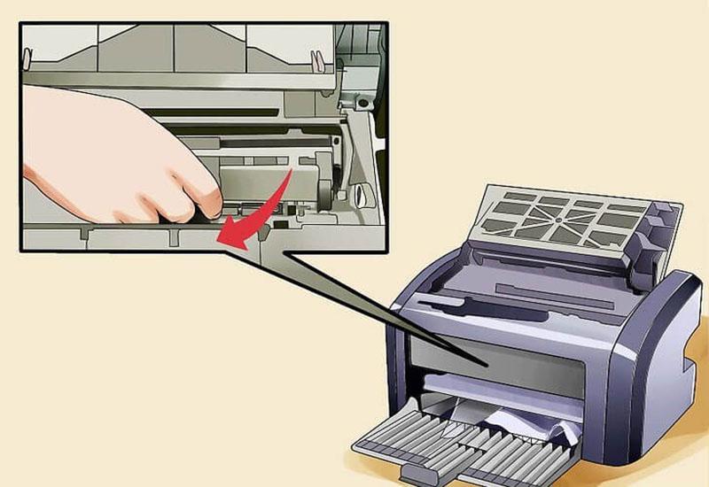 Nguyên nhân gây lỗi kẹt giấy trên máy photocopy