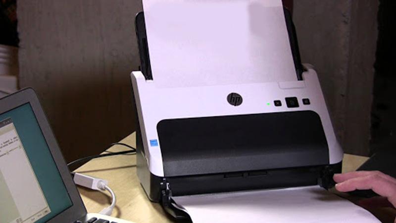 Khắc phục máy scan không thể kết nối với máy tính