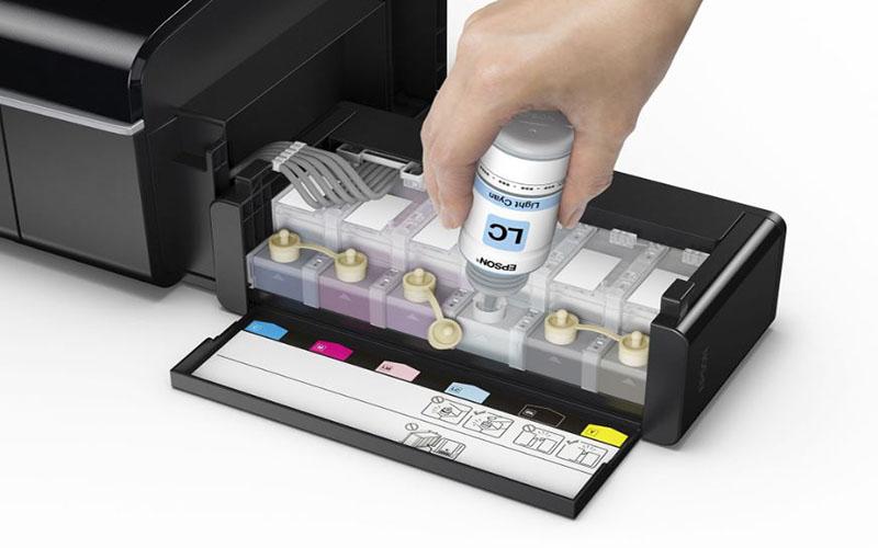 Sử dụng mực tương ứng với dòng máy và thông số kỹ thuật