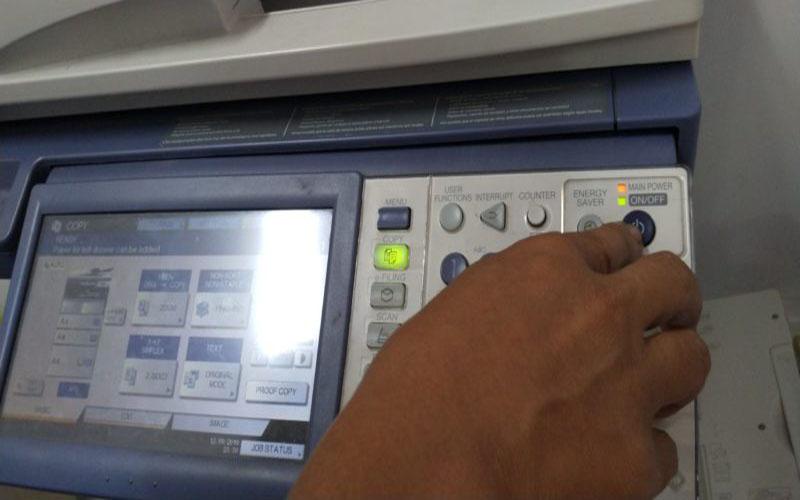 Reset mực máy photocopy Toshiba