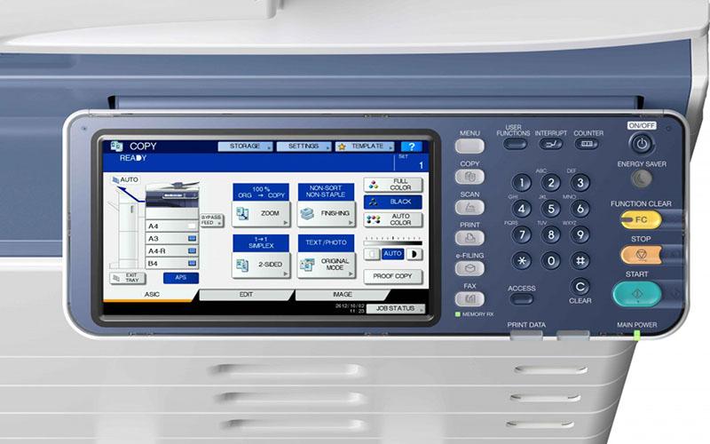 Cách scan 2 mặt bằng máy photocopy Toshiba