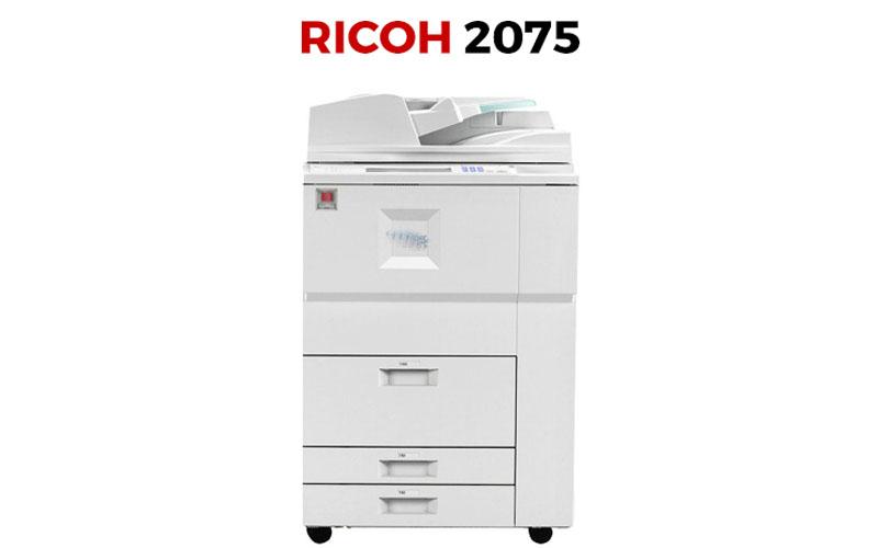 Máy phôt Ricoh 2075 có độ bền tốt