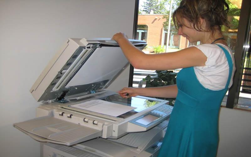 Tính năng scan trên máy photocopy rất tiện ích
