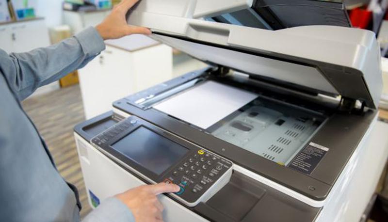 Vị trí đặt máy photocopy phải đảm bảo có khoảng trống để có thể sử dụng