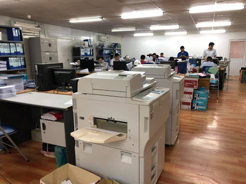 Lưu ý khi lắp đặt máy photocopy trong văn phòng