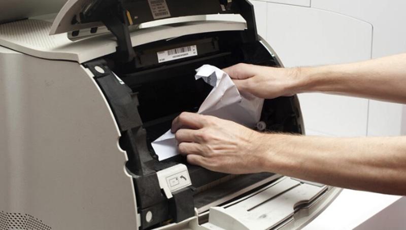 Một số mẹo chống kẹt giấy cho máy photocopy