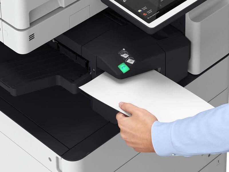 Test máy photocopy hàng kho cẩn thận trước khi mua