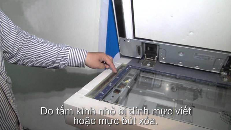 Vai trò của gương máy photocopy
