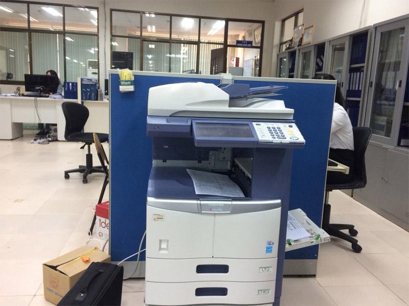Tại sao vị trí đặt máy photocopy lại quan trọng