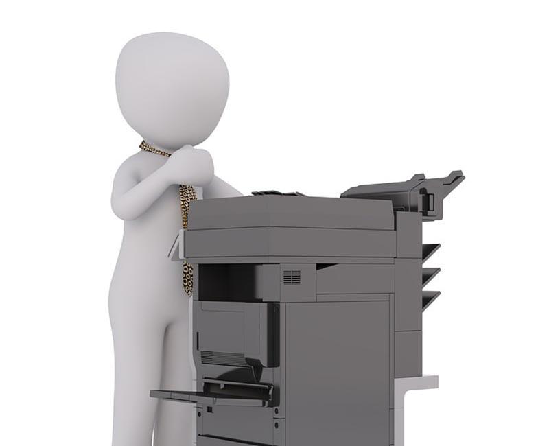Lưu ý khi xử lý máy photocopy bị rò mực