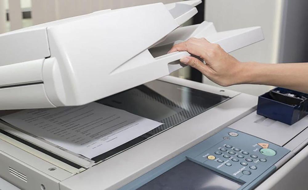 Sử dụng máy photocopy đa chức năng