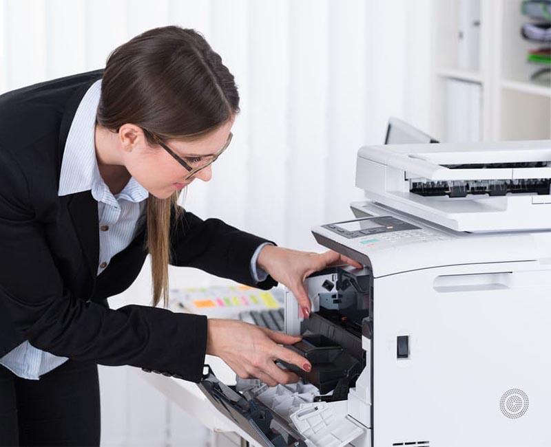 Tình trạng rò mực ở máy photocopy