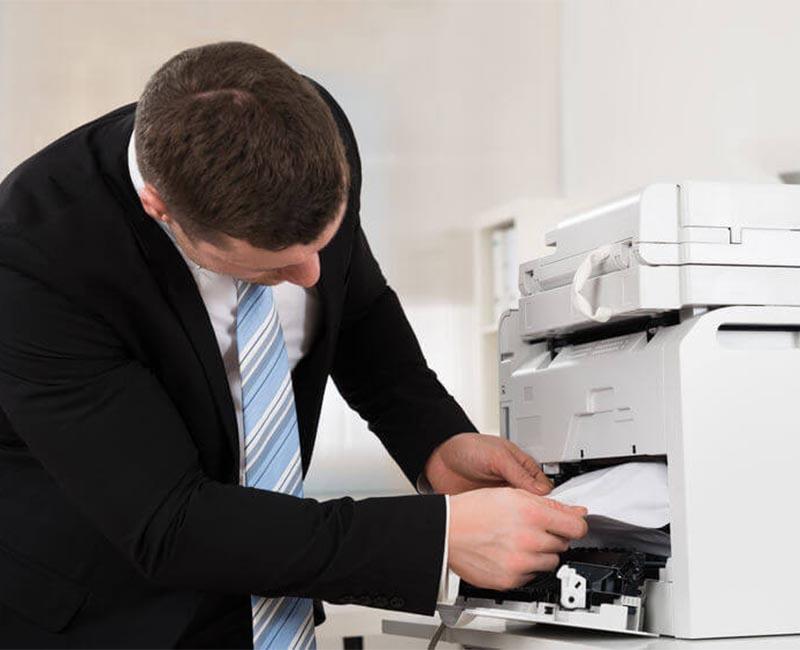 Cách khắc phục hiện tượng hút từ sang trống ở máy photocopy