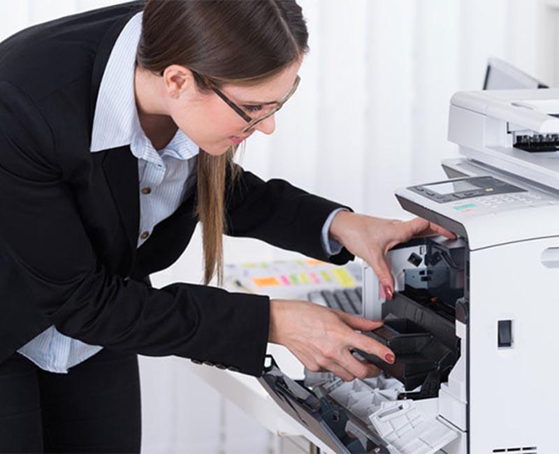 Cách khắc phục khi máy photocopy Ricoh bị kêu to