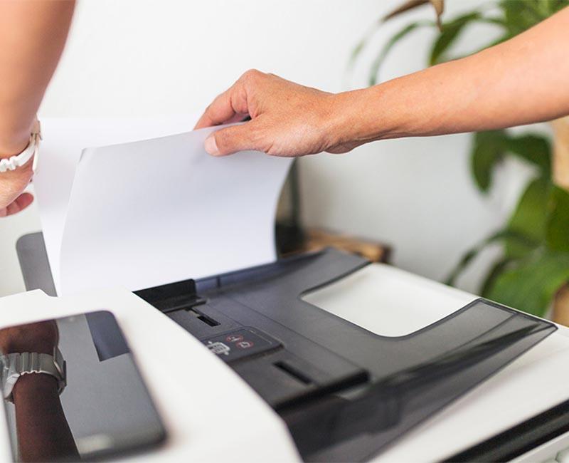 Lỗi kẹt giấy ở máy photocopy Ricoh