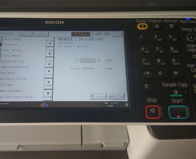 Những lý do bạn cần phải reset máy photocopy Ricoh
